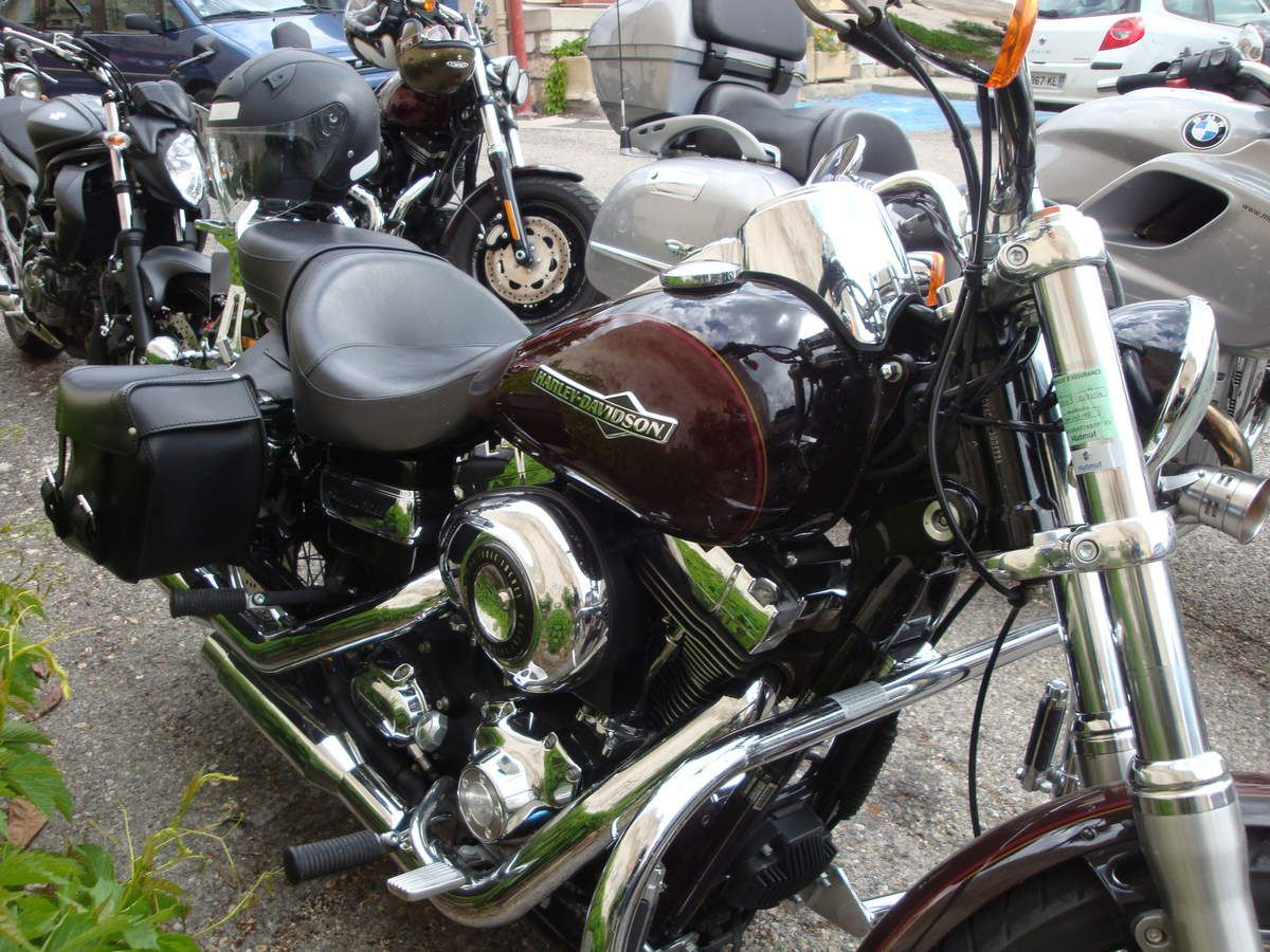 Sainte-Croix : les motos