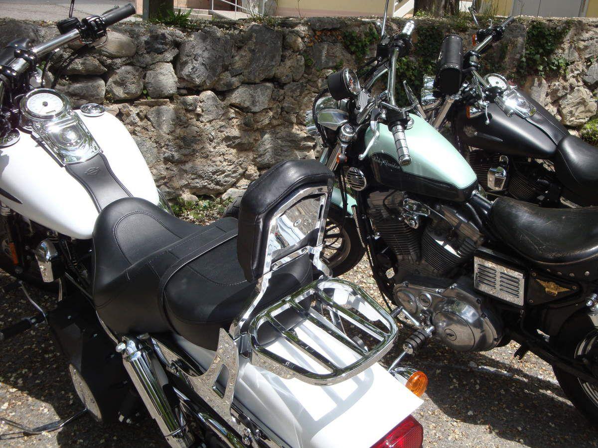 Bras d'Asse, Saint Jeannet, Digne-Les-Bains, Thoard, Saint Geniez, Sisteron, Volonne, l'Escale, Malijai, Oraison en Harley Davidson