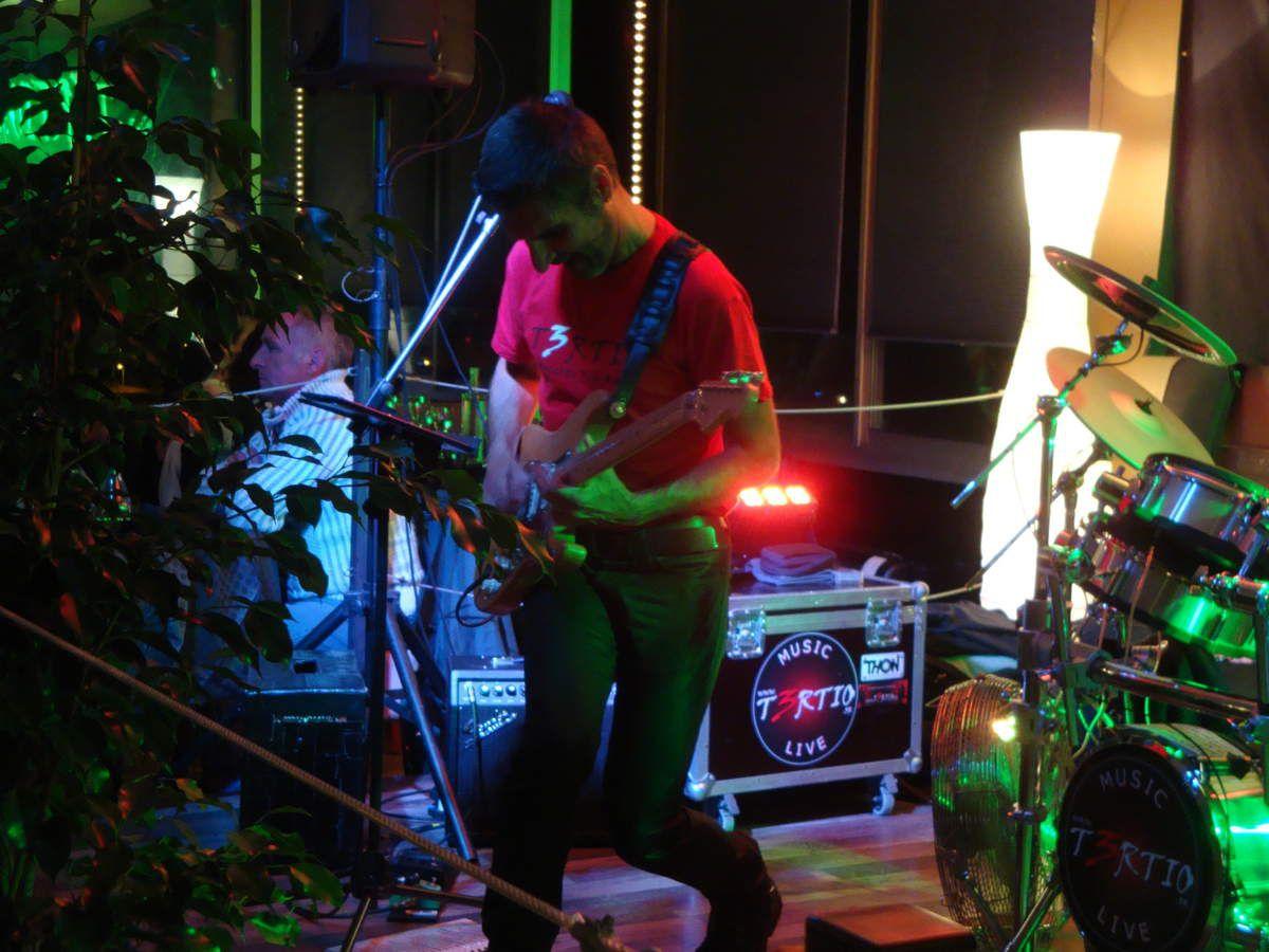 Concert du groupe pop rock T3RTIO au restaurant la &quot&#x3B; Villa d'Este &quot&#x3B; à Sisteron