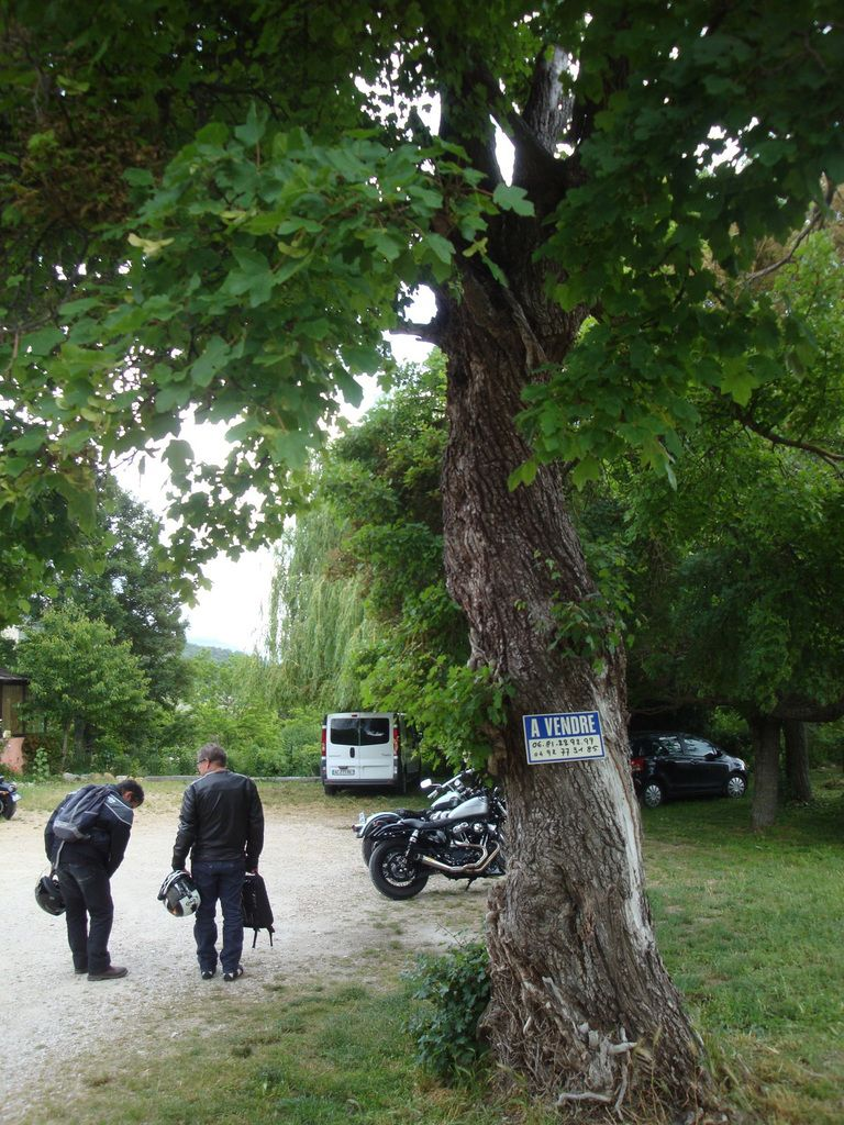 Les Gorges du Verdon, La route des crêtes en Harley Davidson