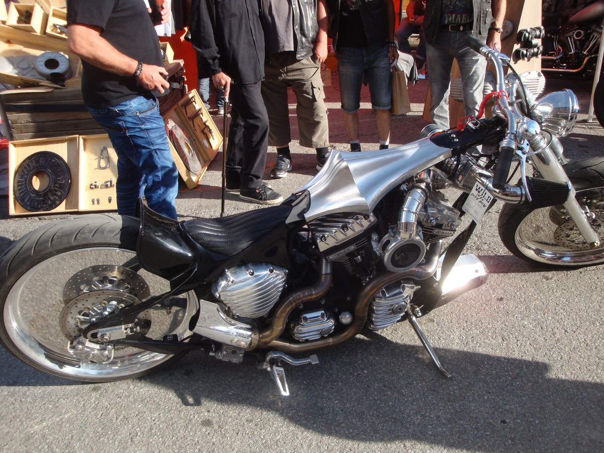 PUNTA BAGNA VALLOIRE 2017 en Harley Davidson ( 1ère partie )