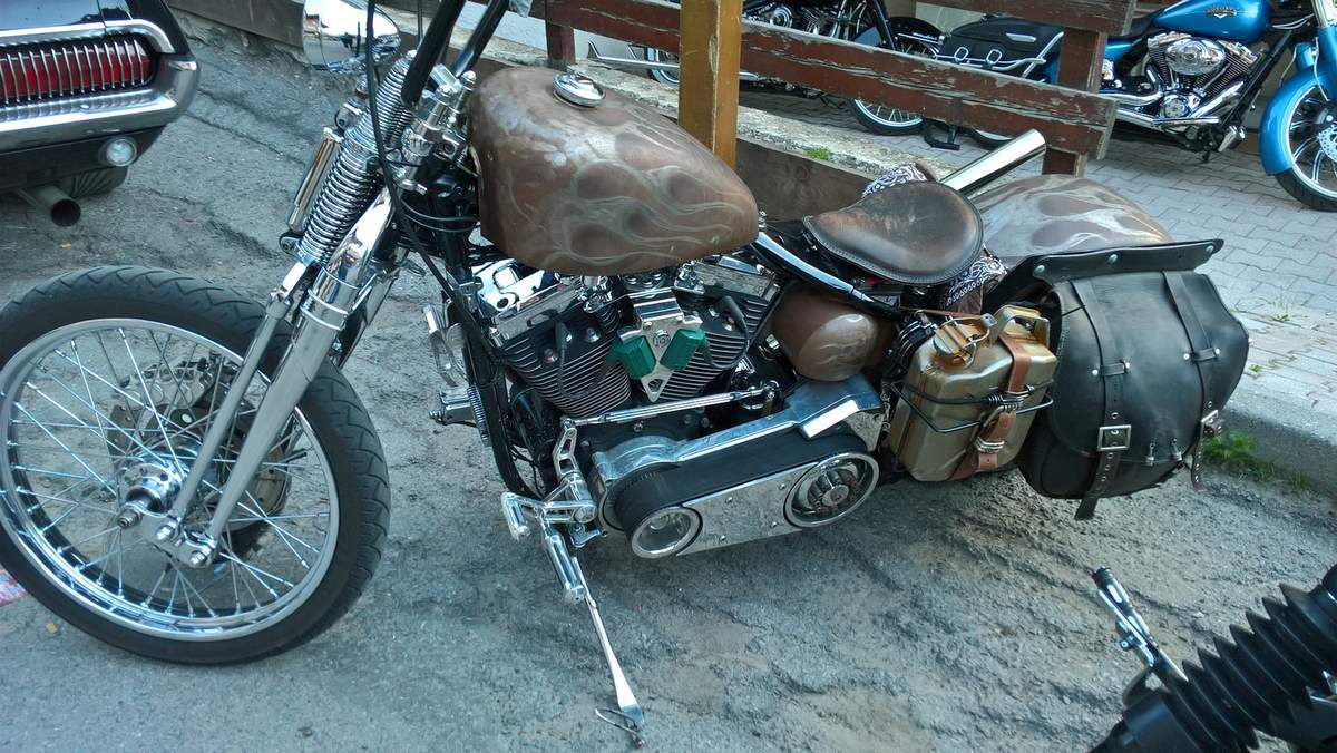 PUNTA BAGNA VALLOIRE 2017 en Harley Davidson ( 2 ème partie )