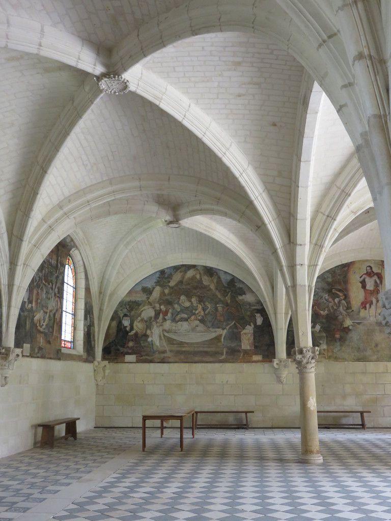 un petit tour à l'Abbaye de Fontevrault