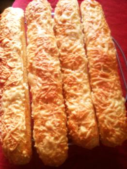 Baguettes aux gruyère