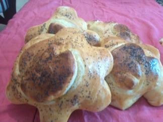Petits pains a la semoule