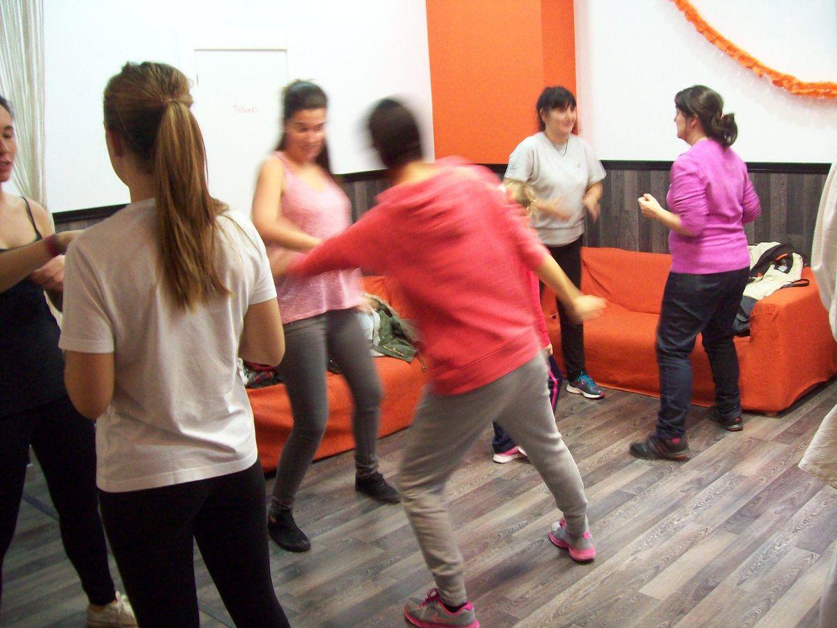 Fotos del último curso de Autodefenza para Mujeres en Logroño.