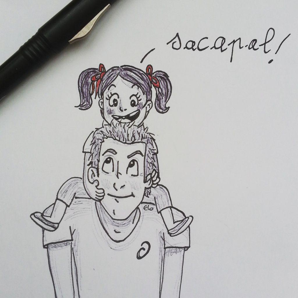 pour l'association Sacapal (pour qu'un jour peut etre... il rentre ses fesses...)