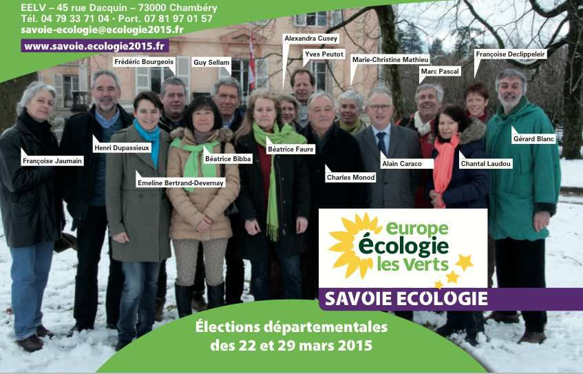 Savoie Écologie présente un programme et des canditatEs