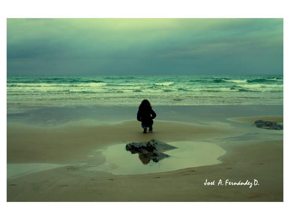 Andrea y las olas