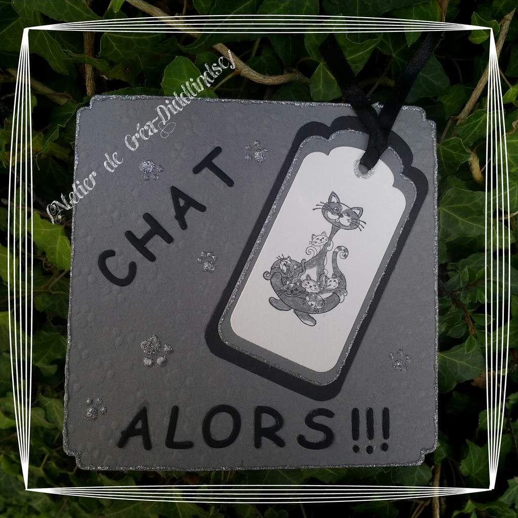 """Carte """"chat alors!!!"""""""