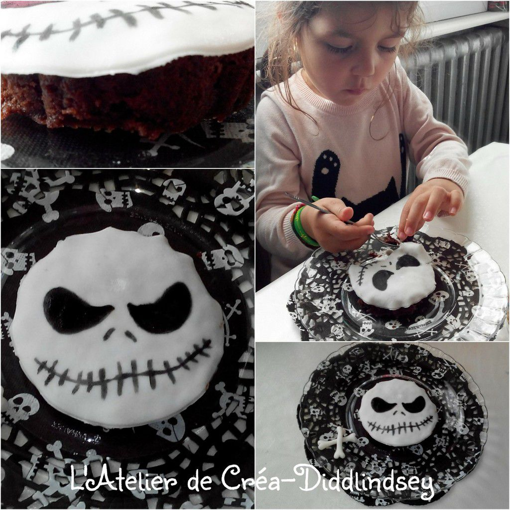 G teau l 39 trange no l de monsieur jack le blog de for Idee deco gateau halloween