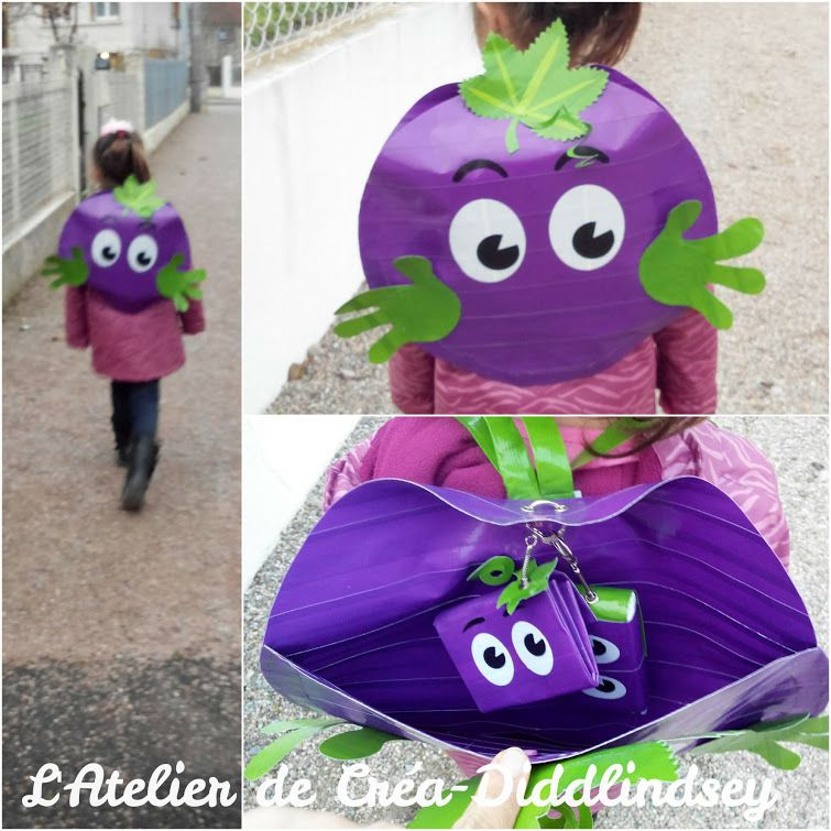 Mon petit sac à dos est actuellement exposé à l'office du tourisme de Saint-Pourçain-sur-Sioule dans l'Allier
