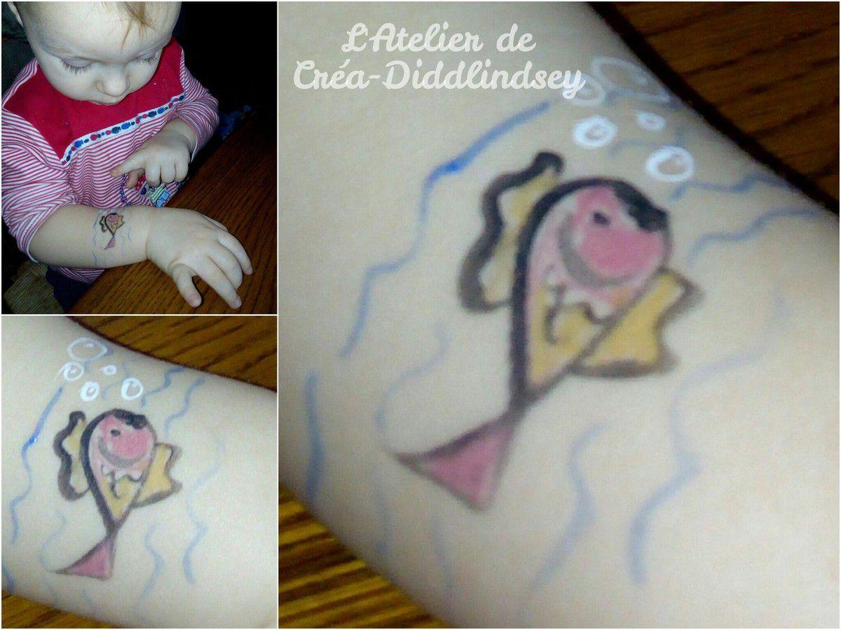 Et pour mon petit pirate jaloux un petit poisson