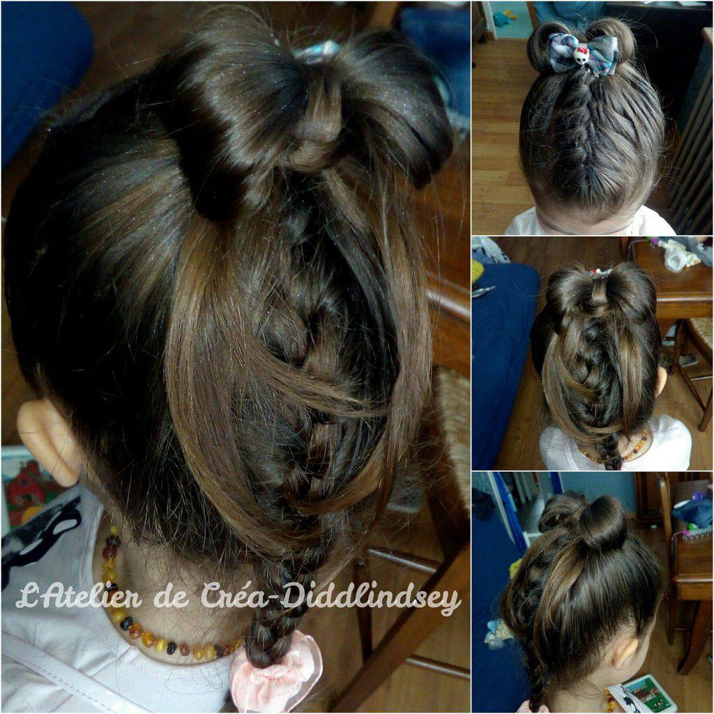 Coiffure à l'aide du ponytail sur Alyssonne