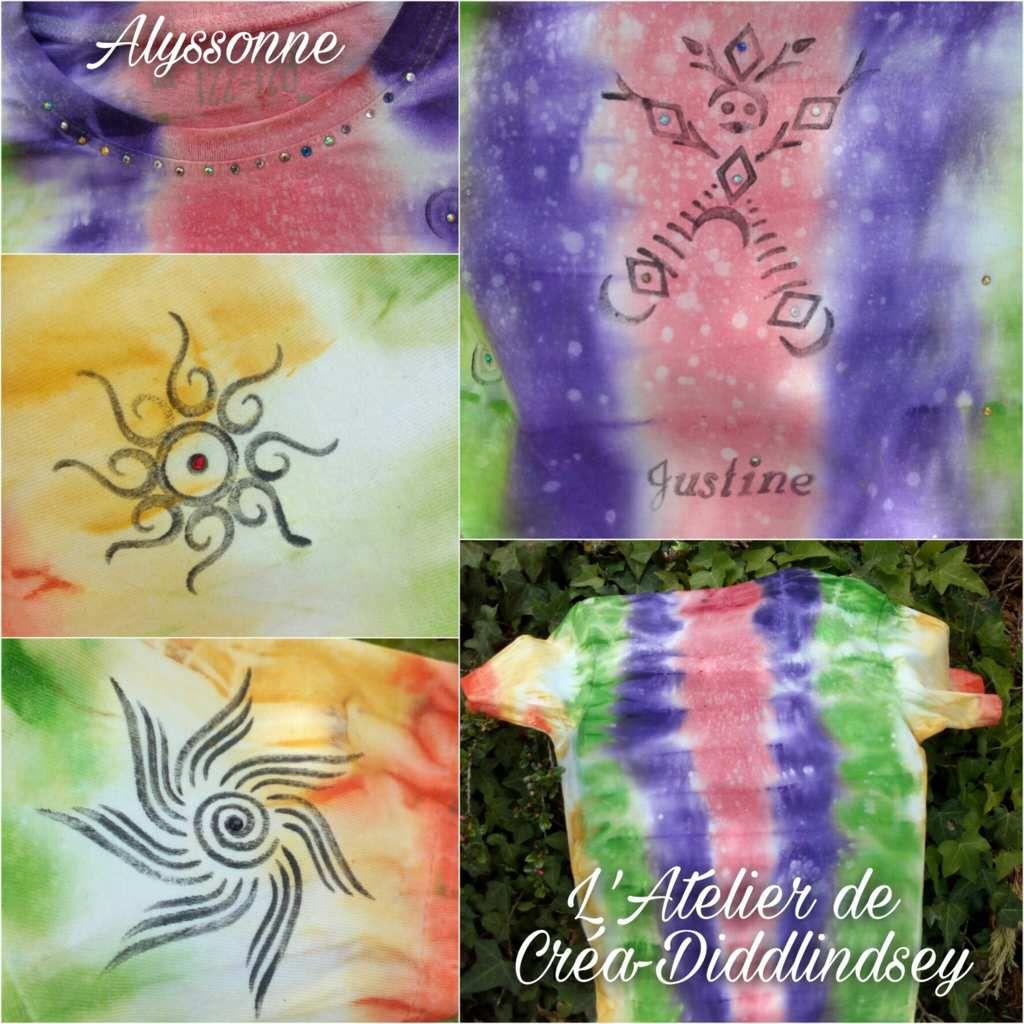 Si vous me suivez vous avez dû voir dernièrement un t-shirt réalisé par ma mini moi avec un la peinture Darwin texte et des tampons pour tatouage. Je vous avais promis alors de vous donner l'astuce pour réaliser un encreur. Chose promis chose due !