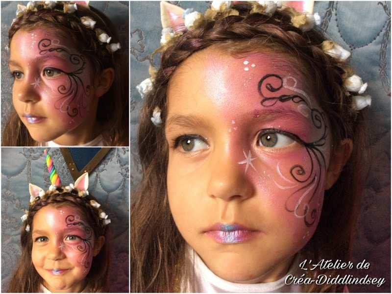 Une jolie princesse licorne