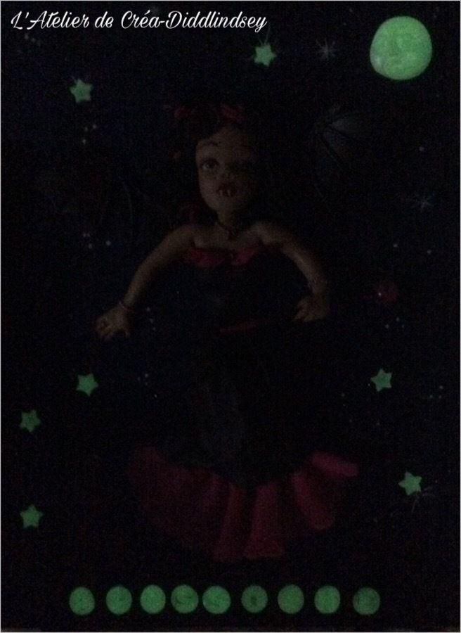 Une jolie poupée vampire pour la chambre d'Alyssonne en porcelaine froide Brazil biscuits