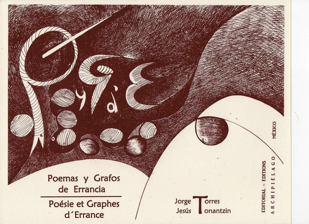 Lectura poética del libro-objeto : Poemas y Grafos de errancia