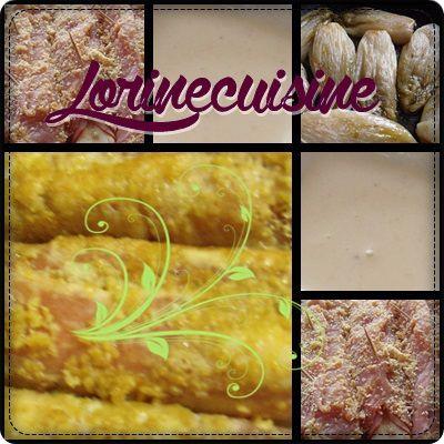 Escalopes de dinde panées au maroilles