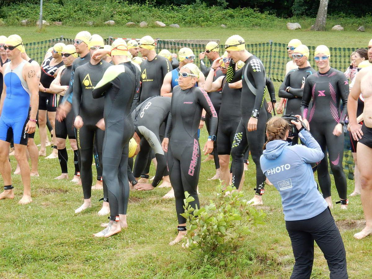 24. Werbellinsee-Triathlon lockt(e)...das Team Oller und Doller