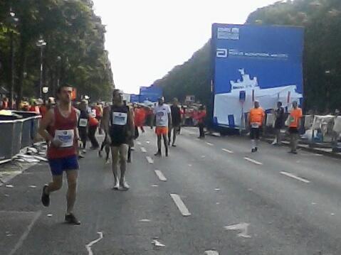 43. BMW Berlinmarathon- 62.737 Schritte durch Berlin