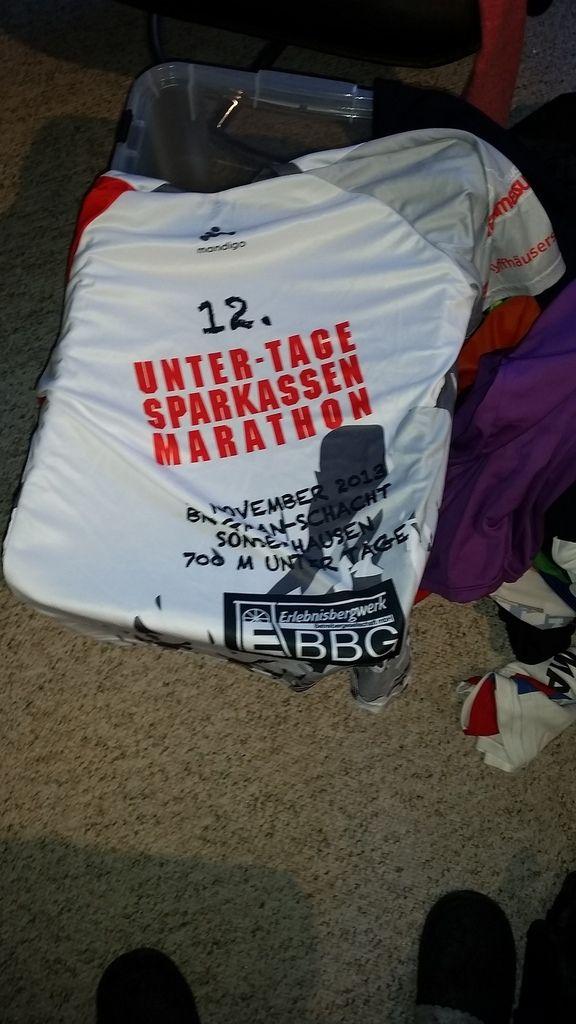 Einige ausgefallene T-Shirt werde ich zum Eintauschen/Verschenken auf meine letzte so lange und so weite Sportreise mitnehmen.