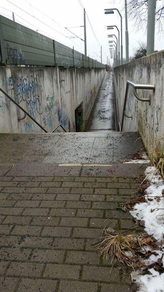 Nun gibt es dort nur noch einen Tunnel, der Nord- und Südstaaken verbindet.