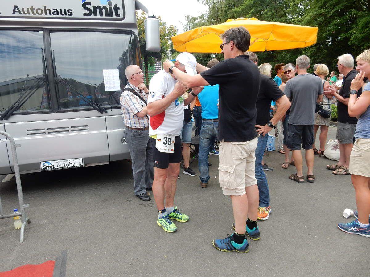 Helfer beim doppelten Ironman - Kampf der Gladiatoren