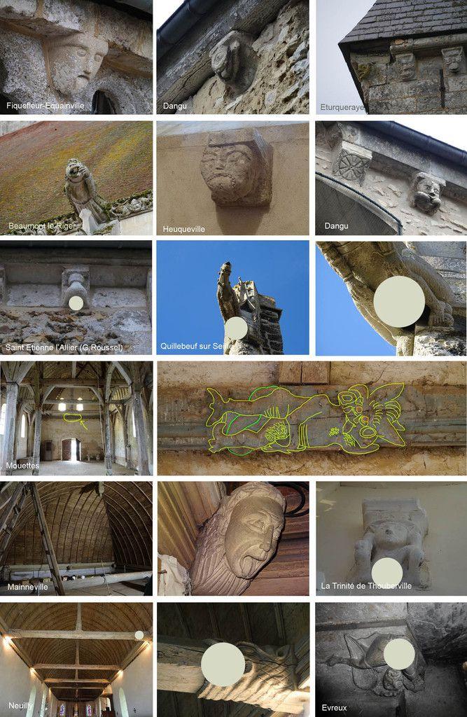 Les images licencieuses des églises de l'Eure - Les Essentiels - Connaissance n°124