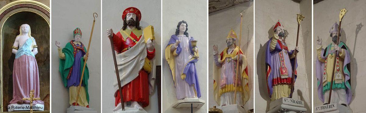 La statuaire naive des églises de l'Eure - Les Essentiels Connaissance Eglise