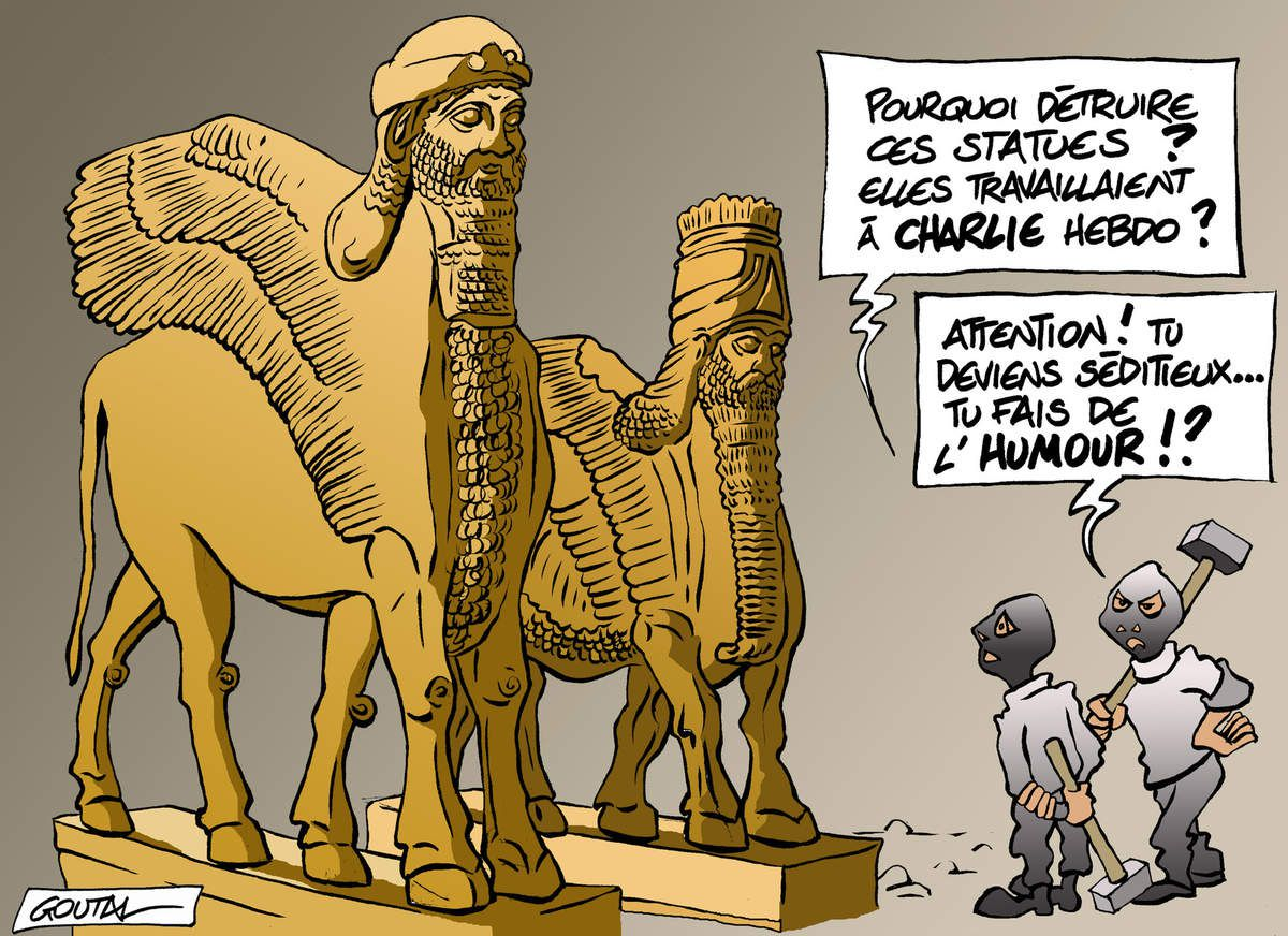 Les incommensurables connards!!!