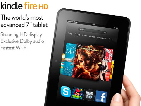 #BonPlan | Une Kindle Fire HD à 89€ au lieu de 139€ !