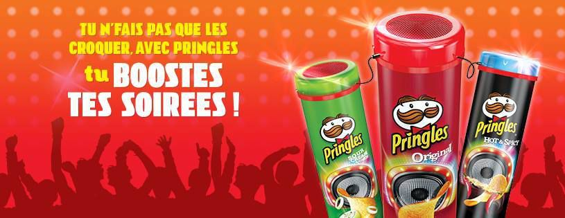 #BonPlan | Une enceinte Disco Pringles offerte ! ( Frais de port 3 € )