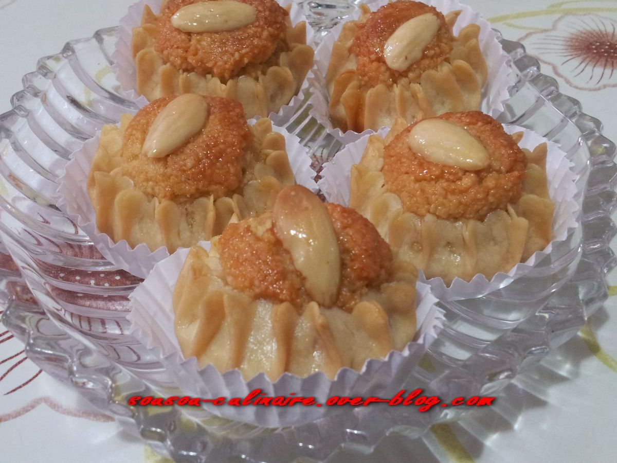 Dziriettes g teau traditionnel alg rien aux amandes - Decoration gateau traditionnel algerien ...