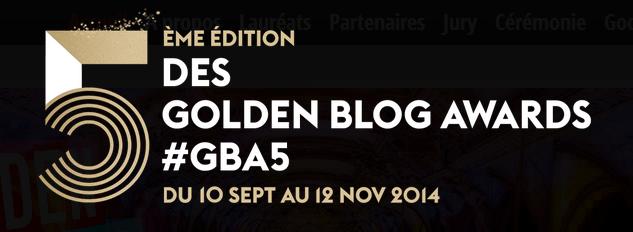 Votez pour le blog 83-629 aux &quot&#x3B;Golden Blog Awards&quot&#x3B;