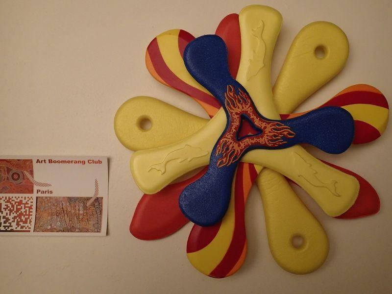 Petite sélection de boomerangs mousse