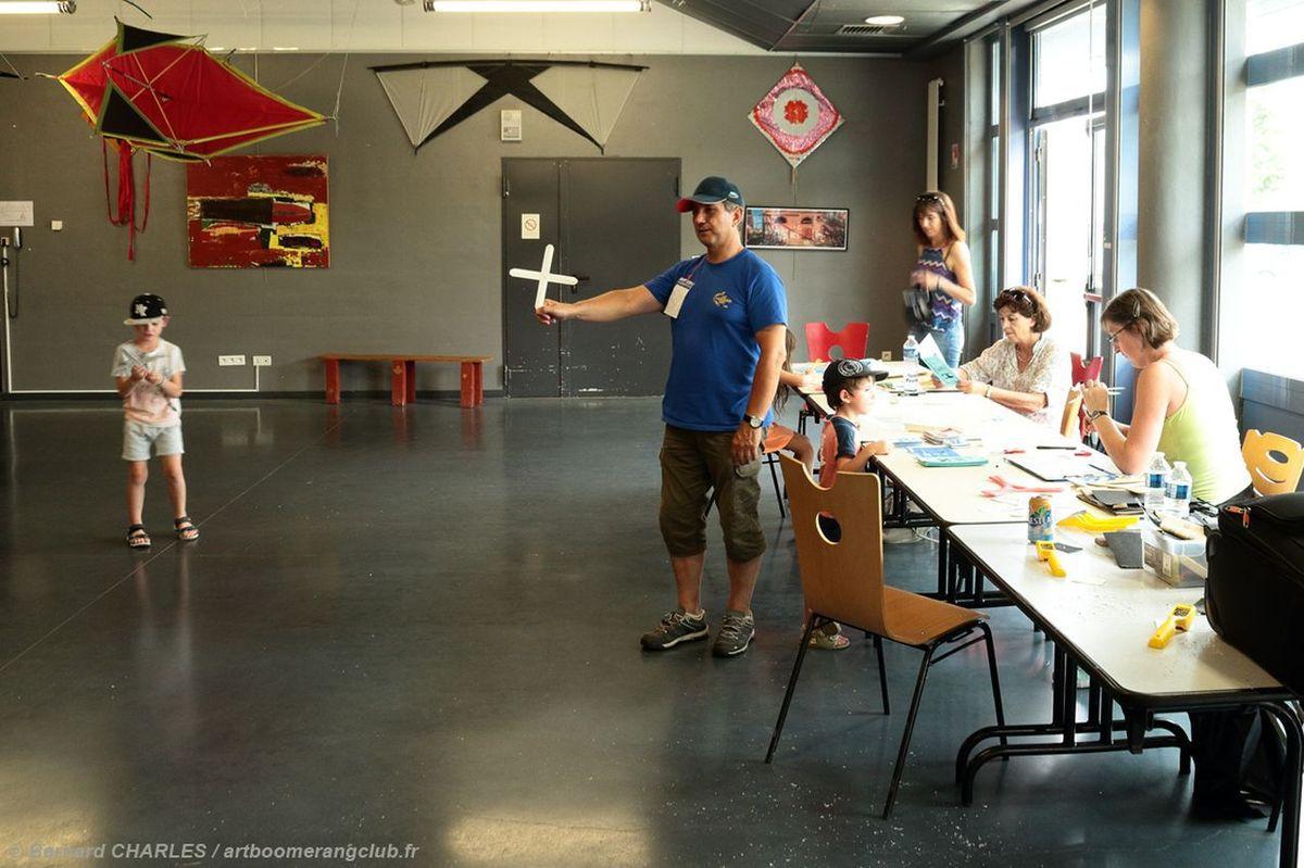 Rencontre Cerf volant Boomerang à Auxerre