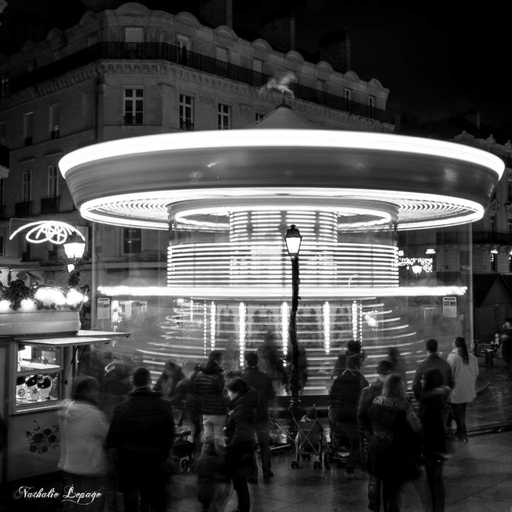 Stage Photo - Illuminations de Noël à Angers