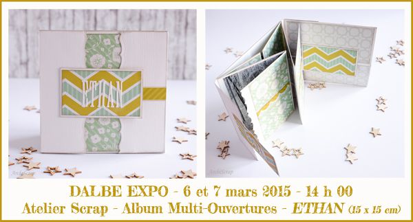 Salon DALBE EXPO 2015 - Les Ateliers Scrap