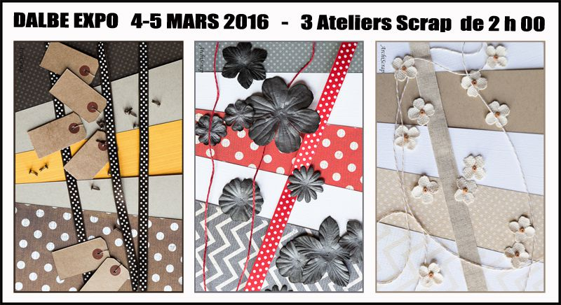 Ateliers Salon Dalbe Expo 2016