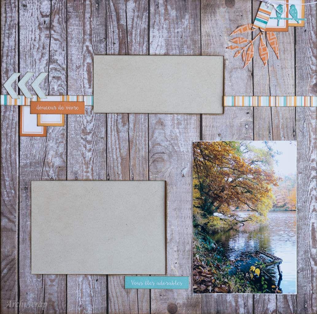 Page Bois 1 photo 15 x 10 xm - Page Oranger 1 photo 10 x 13 cm