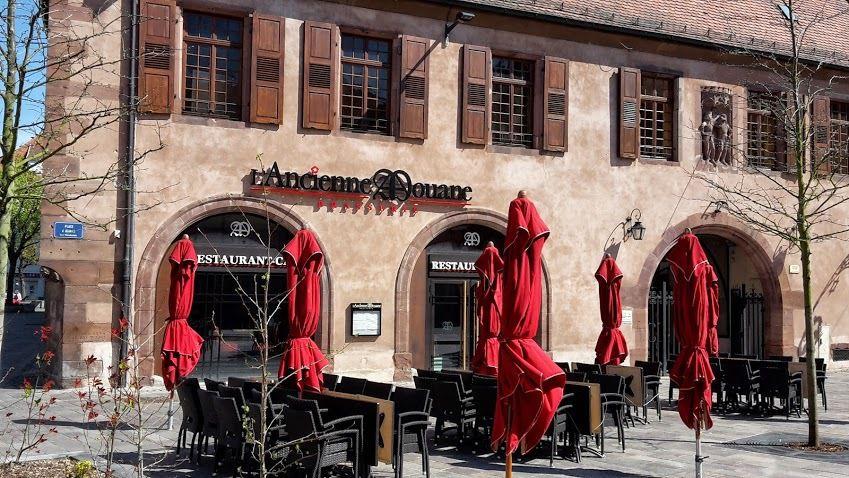 Aujourd'hui lundi 20 Avril 2015, ouverture de la Brasserie L'Ancienne Douane