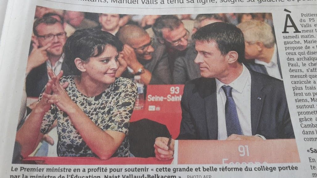 Photo AFP de la page 5 des DNA du 7 Juin 2015