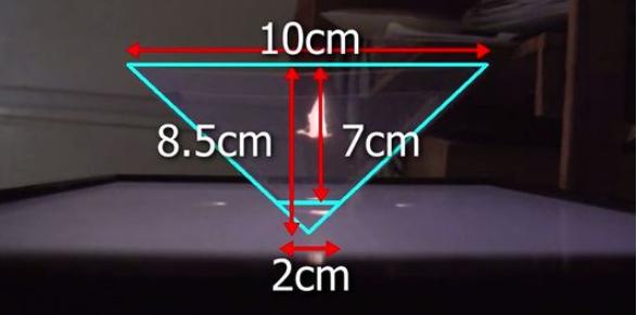 Truc bricolage: Faites votre hologramme maison en dix minutes chrono