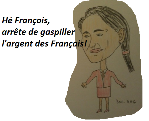 Quand Hollande dilapide l'argent des français