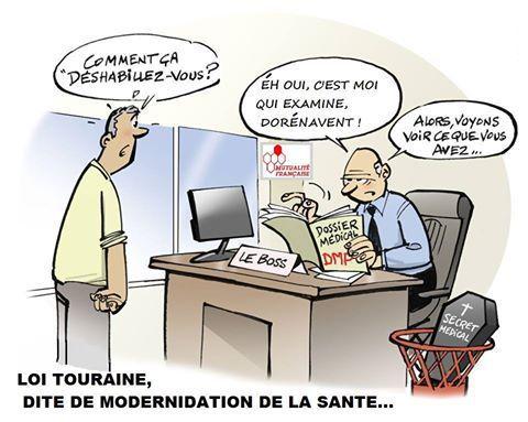 Bientôt la fin du secret médical par la loi Touraine