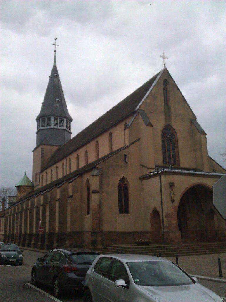 Eglise gothique St Nicolas de Haguenau