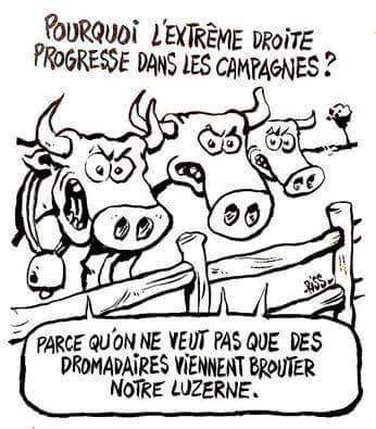 Humour Elections: Motivation campagnarde pour le FN