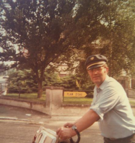 Hommage à mon père facteur, décédé le 8 octobre 1992