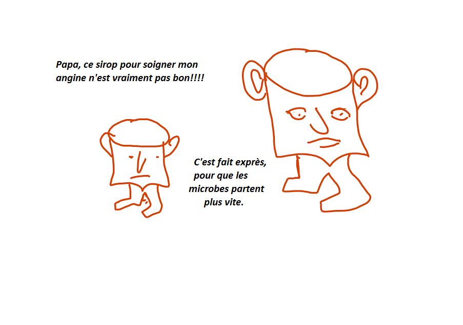 Humour Les Tassinous: Nouvelle stratégie anti-microbes